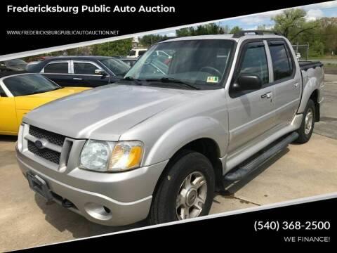 2004 Ford Explorer Sport Trac for sale at FPAA in Fredericksburg VA