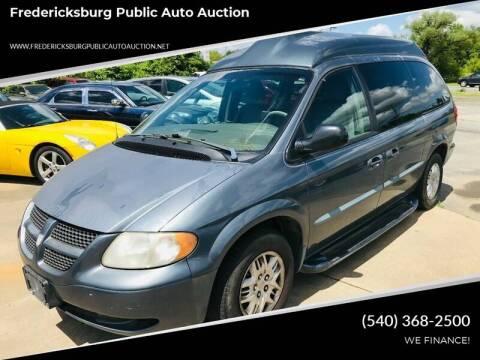 2002 Dodge Grand Caravan for sale at FPAA in Fredericksburg VA