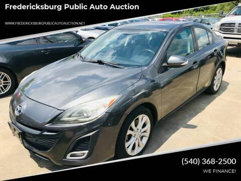2010 Mazda MAZDA3 s Grand Touring for sale at FPAA in Fredericksburg VA