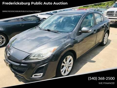 2010 Mazda MAZDA3 for sale at FPAA in Fredericksburg VA