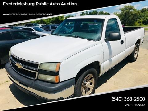 2006 Chevrolet Silverado 1500 for sale at FPAA in Fredericksburg VA
