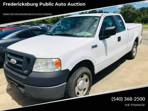 2007 Ford F-150 XL for sale at FPAA in Fredericksburg VA