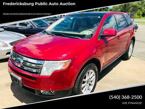 2007 Ford Edge For Sale >> Ford Edge For Sale In Fredericksburg Va Fpaa