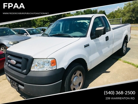 2008 Ford F-150 for sale at FPAA in Fredericksburg VA