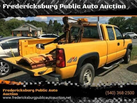 2005 Chevrolet Silverado 2500HD for sale at FPAA in Fredericksburg VA