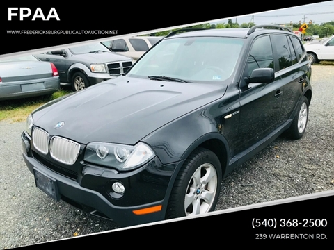2007 BMW X3 for sale at FPAA in Fredericksburg VA