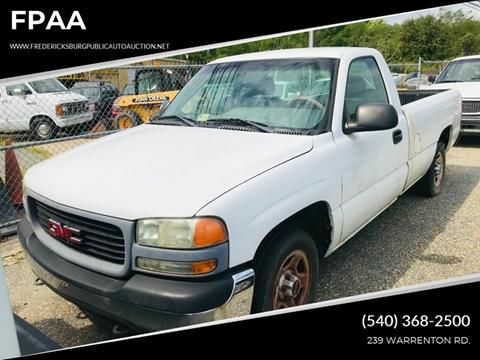 2002 GMC Sierra 1500 for sale in Fredericksburg, VA