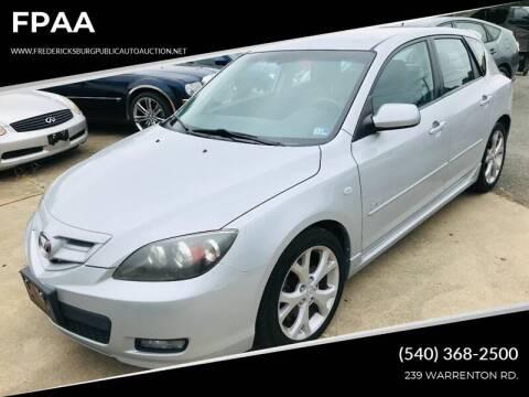2007 Mazda MAZDA3 for sale at FPAA in Fredericksburg VA