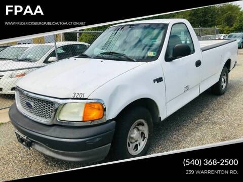 2004 Ford F-150 Heritage for sale at FPAA in Fredericksburg VA