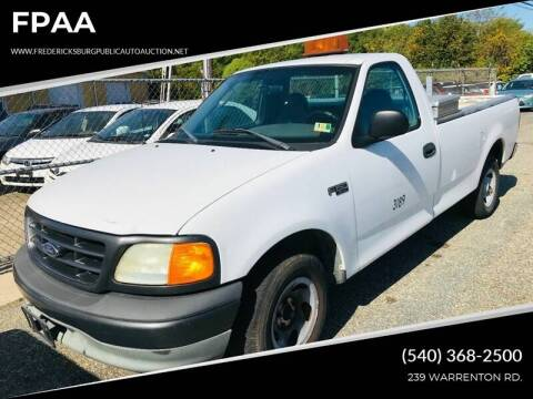 2004 Ford F-150 Heritage XL for sale at FPAA in Fredericksburg VA