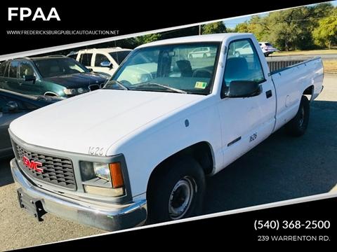1995 GMC Sierra 1500 for sale in Fredericksburg, VA