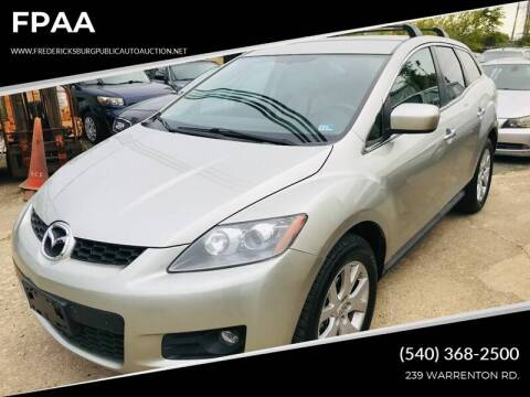 2007 Mazda CX-7 for sale at FPAA in Fredericksburg VA