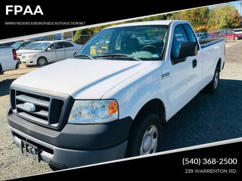 2008 Ford F-150 XL for sale at FPAA in Fredericksburg VA