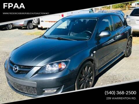 2009 Mazda MAZDASPEED3 for sale at FPAA in Fredericksburg VA