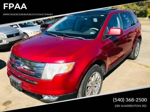 2008 Ford Edge Limited for sale at FPAA in Fredericksburg VA