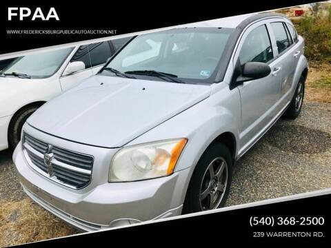 2011 Dodge Caliber for sale at FPAA in Fredericksburg VA