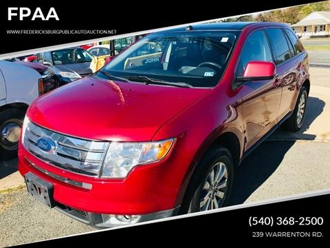 2007 Ford Edge for sale in Fredericksburg, VA