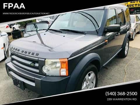 2006 Land Rover LR3 for sale in Fredericksburg, VA