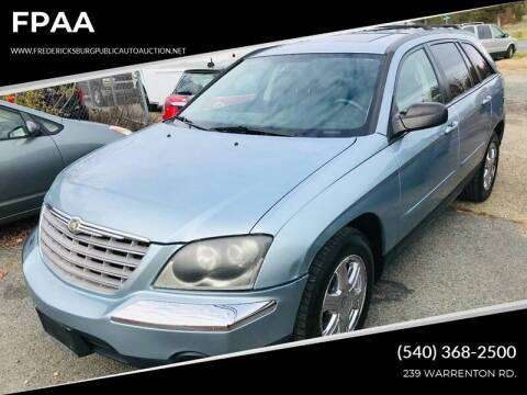 2004 Chrysler Pacifica for sale at FPAA in Fredericksburg VA