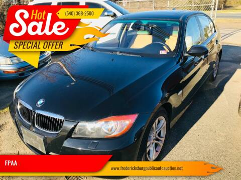 2008 BMW 3 Series for sale at FPAA in Fredericksburg VA
