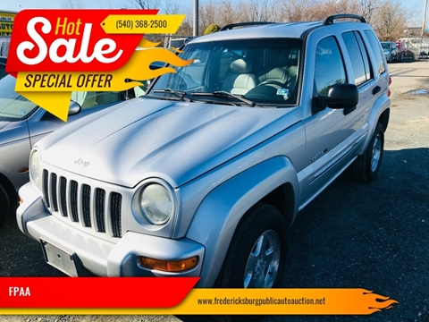 2002 Jeep Liberty for sale at FPAA in Fredericksburg VA