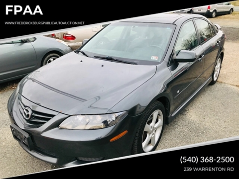 2005 Mazda MAZDA6 s Sport for sale at FPAA in Fredericksburg VA