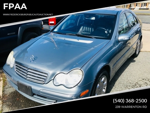 2005 Mercedes-Benz C-Class for sale at FPAA in Fredericksburg VA