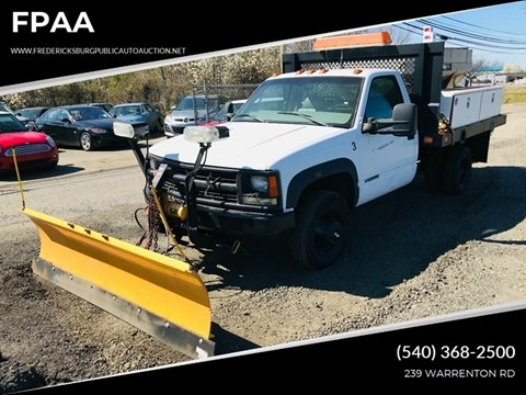 1998 Chevrolet C/K 3500 Series for sale at FPAA in Fredericksburg VA