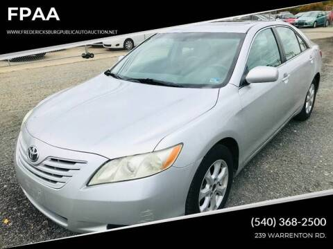 2009 Toyota Camry LE for sale at FPAA in Fredericksburg VA