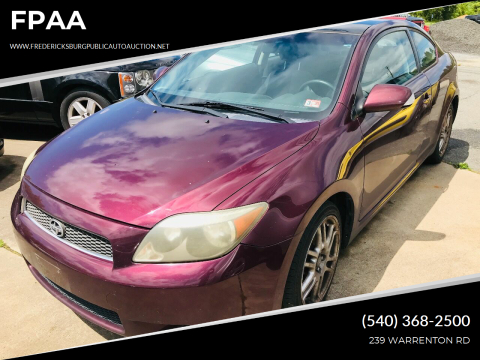 2006 Scion tC for sale at FPAA in Fredericksburg VA