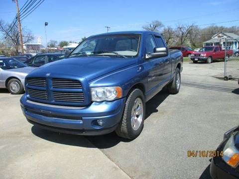 2002 Dodge Ram Pickup 1500 for sale at FPAA in Fredericksburg VA