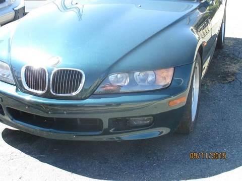 1997 BMW Z3 for sale at FPAA in Fredericksburg VA