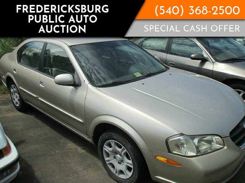2000 Nissan Maxima For Sale At Fredericksburg Public Auto Auction In  Fredericksburg VA