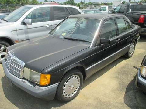 1992 Mercedes-Benz 190-Class for sale at FPAA in Fredericksburg VA