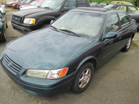 1998 Toyota Camry for sale at FPAA in Fredericksburg VA