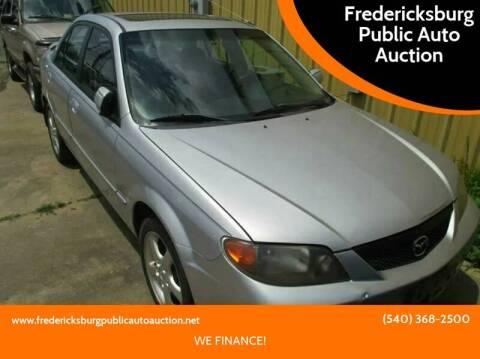 2002 Mazda Protege for sale at FPAA in Fredericksburg VA
