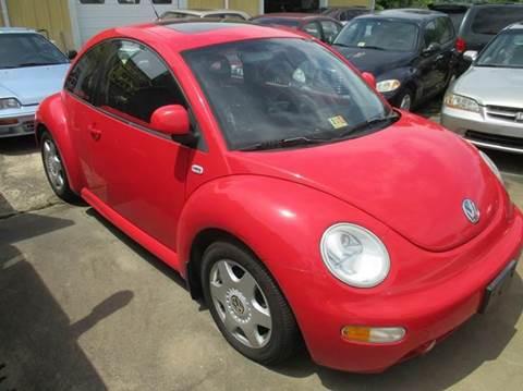 2000 Volkswagen New Beetle for sale at FPAA in Fredericksburg VA