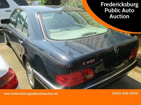 1999 Mercedes-Benz E-Class for sale in Fredericksburg, VA