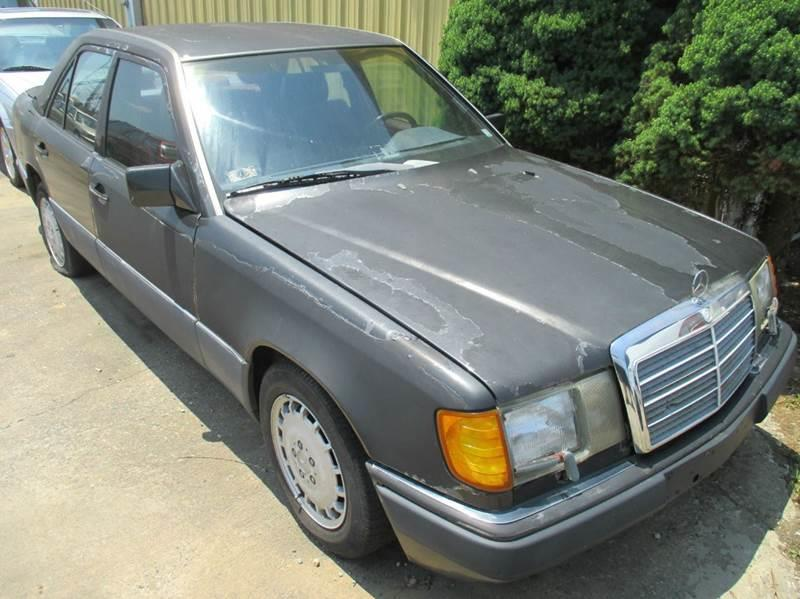 1990 Mercedes Benz 300 Class For Sale At Fredericksburg Public Auto Auction  In Fredericksburg