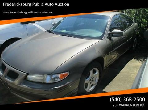 2001 Pontiac Grand Prix for sale in Fredericksburg, VA