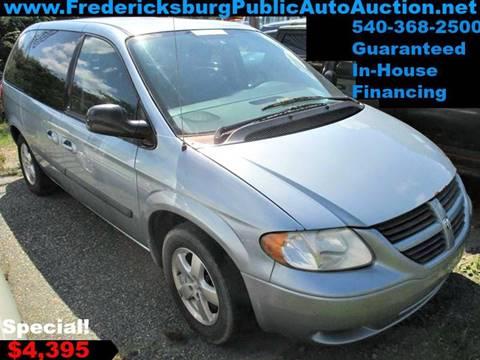 2006 Dodge Caravan for sale at FPAA in Fredericksburg VA