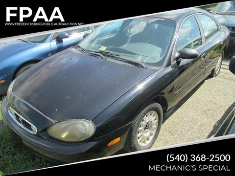 1999 Mercury Sable for sale at FPAA in Fredericksburg VA