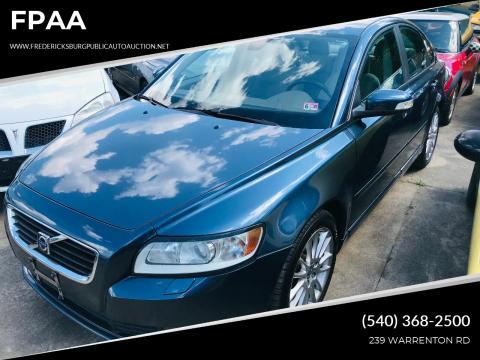 2009 Volvo S40 for sale at FPAA in Fredericksburg VA