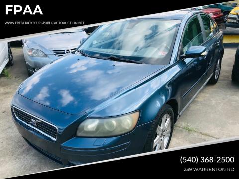2006 Volvo S40 for sale at FPAA in Fredericksburg VA