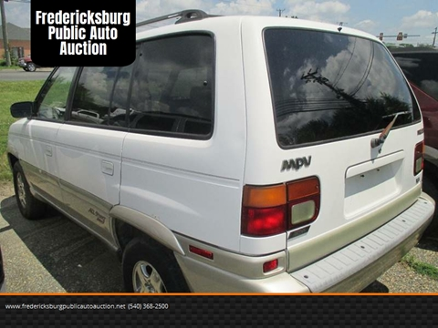 1997 Mazda MPV for sale at FPAA in Fredericksburg VA