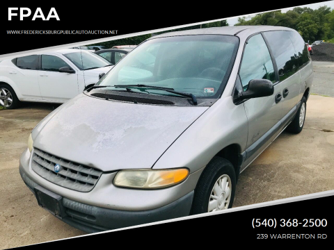 1997 Plymouth Grand Voyager for sale at FPAA in Fredericksburg VA