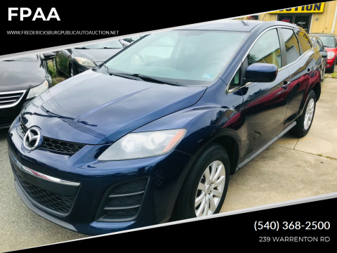 2010 Mazda CX-7 for sale at FPAA in Fredericksburg VA