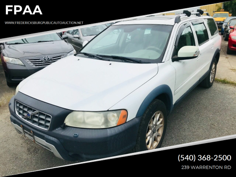 2007 Volvo XC70 for sale at FPAA in Fredericksburg VA