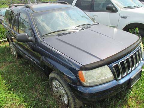 2002 Jeep Grand Cherokee for sale in Fredericksburg, VA