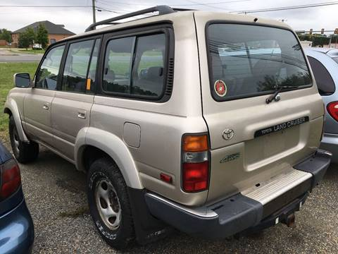 1992 Toyota Land Cruiser for sale at FPAA in Fredericksburg VA